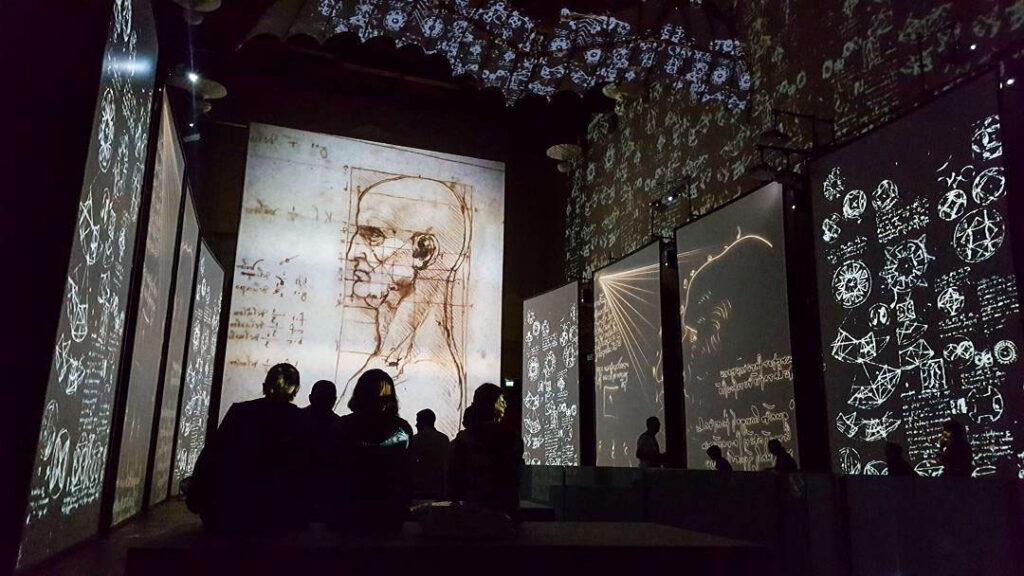 Da Vinci Experience Sala Immersiva