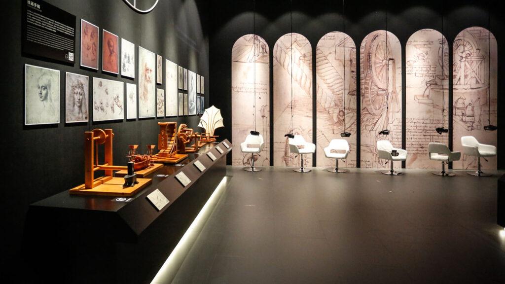 Da Vinci Experience Sala Oculus